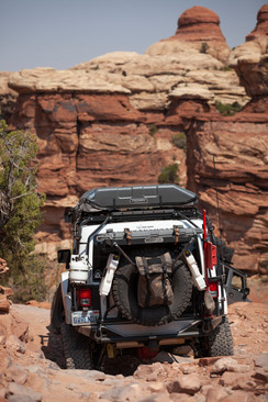 Tackling the Elephant Hill Trail, Canyonlands National Park