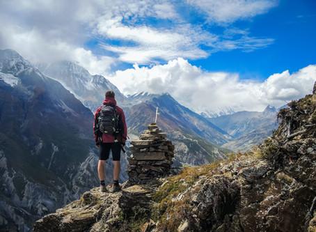 登山中におこった膝の痛みを治して、また山に戻って歩き続けたい(52歳男性・会社員)