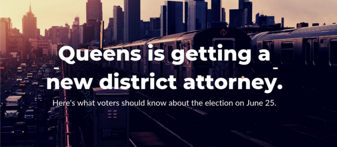 Engagement Project: Queens DA Election Voter'sGuide