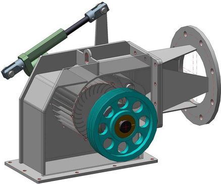 Cross-flow Turbine