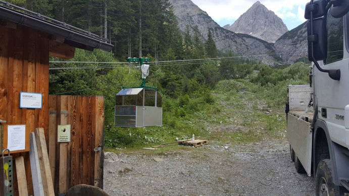 Umbau Hanauerhütte