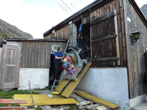 Umbau Winnenbachseehütte