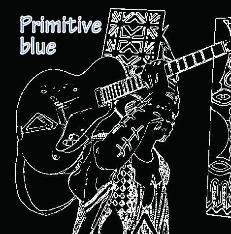 primitive blue