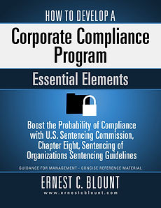 Book Cover: How to Develop A Corporate Compliance Book Cover: How to Develop a Corporace Compliance Program: Essential Elements