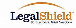 LegalShield logo Total access. Total fre