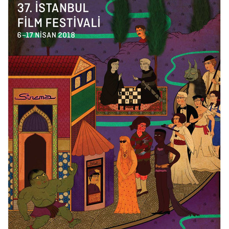 37. İstanbul Film Festivali afişleri çok yakında sokaklarda