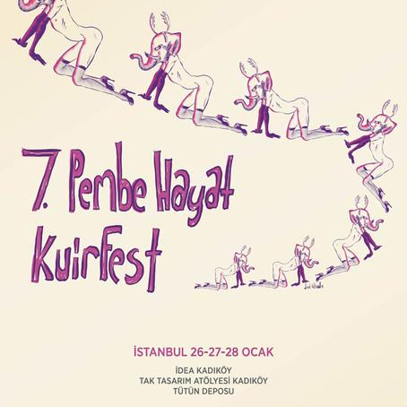 7. Pembe Hayat KuirFest İstanbul'da başlıyor