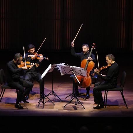Borusan Quartet, Amsterdam Yaylı Çalgılar Dörtlüsü Bienali'nde çaldı