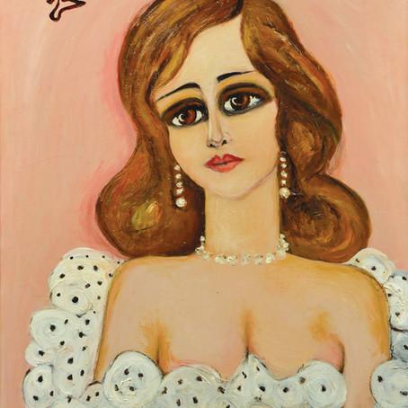 Fahrelnissa Zeid'in Feminity adlı yapıtı 1 milyon 260 bin TL'ye satıldı
