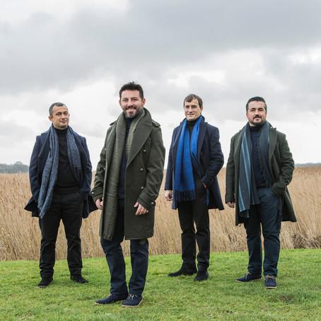 Borusan Quartet'in yeni kayıt çalışması Company eleştirmenlerden tam not aldı