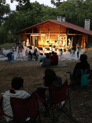 Vur, Yağmala, Yeniden oyunu Balat Atatürk Ormanı İzci Evi'nde