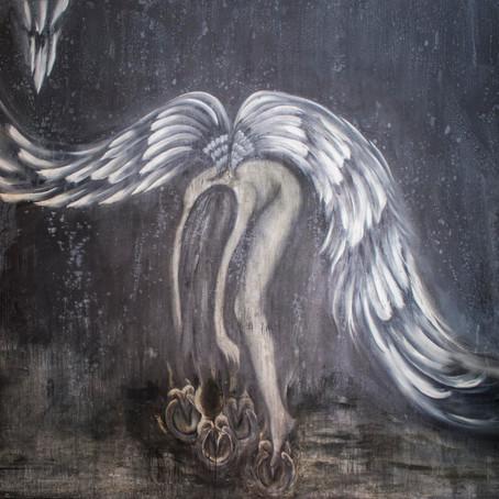 Saint Antoine Kilisesi'nde Angel sergisi