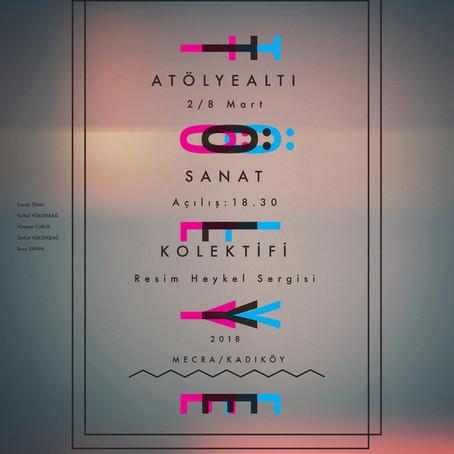 Kadıköy'de Atölye Altı sergisi