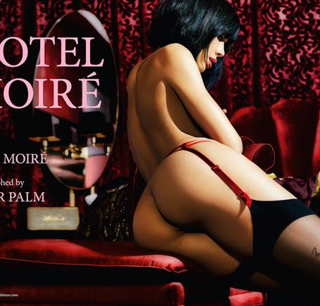 Milo Moiré'den 2018 takvimi: Hotel Moiré