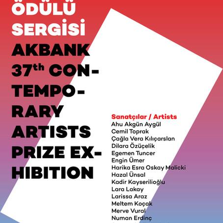 Akbank 37. Günümüz Sanatçıları ÖdülüSergisi başlıyor