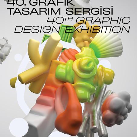40. Grafik Tasarım Sergisi açıldı