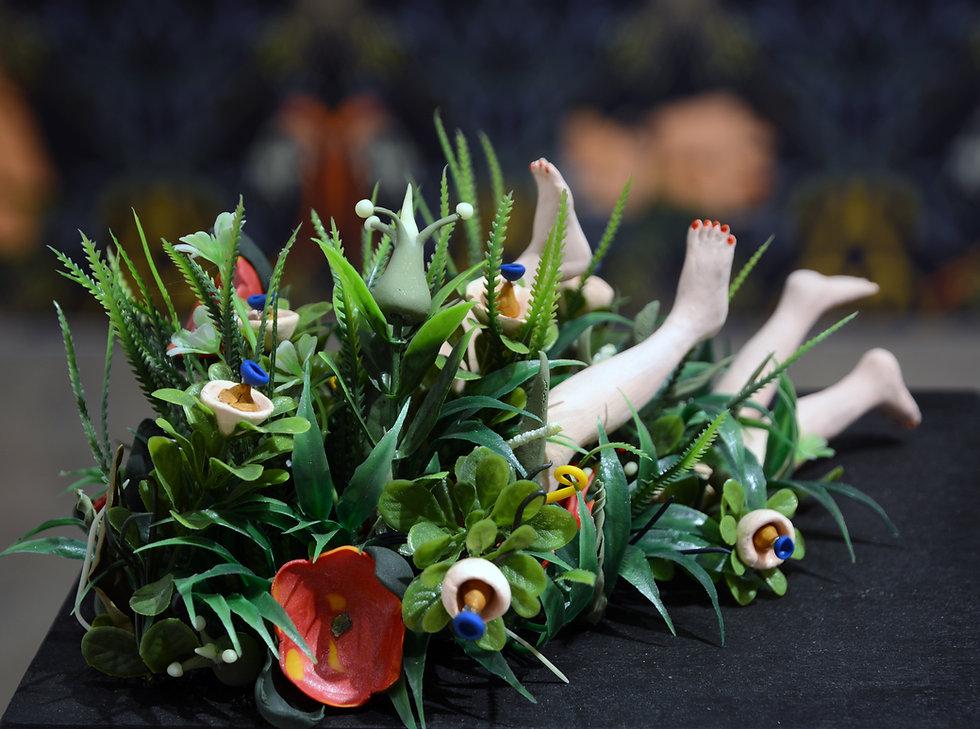 KEY IMAGE_bütün kuşlar benim bahçeme gelir sergisinden yerleştirme görüntüsü, Depo İstanbu