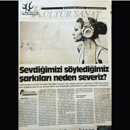 Türkiye'de toplumun müzikal tercihleri ve ana akım müzik medyası