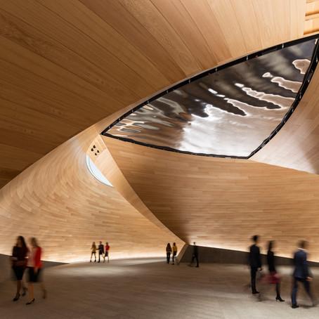 Londra'da tarihle bir gelecek tasarısı: Bloomberg Avrupa Genel Merkez Binası