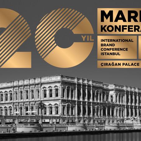 "20. yılında ""İstanbul"" temasıyla MARKA Konferansı"