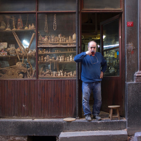 Üretimde gelenek: İstanbul'un geleneksel üreticileriyle söyleşiler