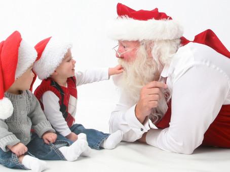 Prošnje otrok decemberskim dobrim možem