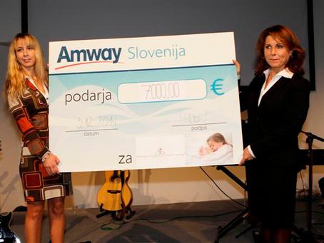 Amway pomagal otrokom preko naše Fundacija