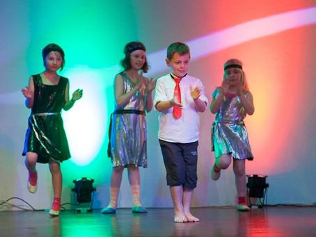Plesalci zbrali 2.432 € za bolne otroke!