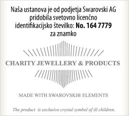 Pridobili smo svetovno dobrodelno licenco za kristale Swarovski