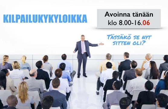 Miten Suomi ja yritykset saadaan nousuun?