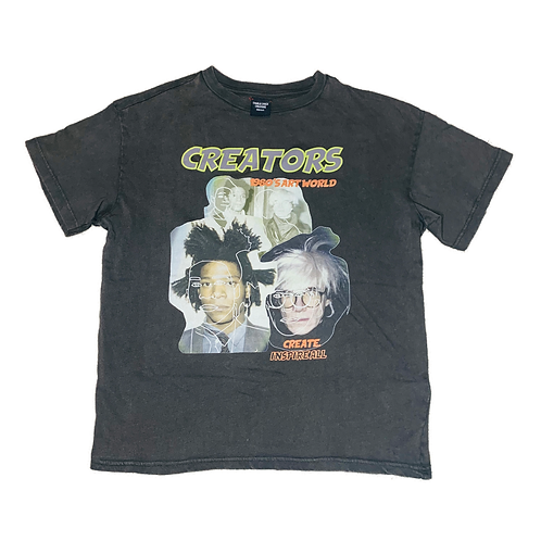 CREATOR CAPSULE - 001| Basquiat X Warhol