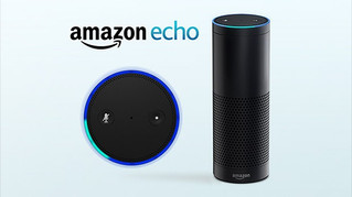 "Amazon Echo  "" Hello Alexa"""