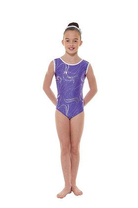 Sleeveless Gymnastics Leotard Gym/35