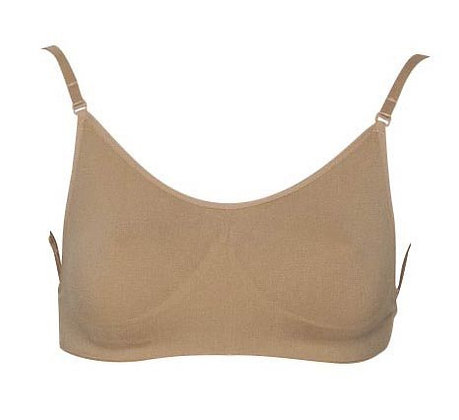 Girls, Ladies Convertible Nude Seamless Dance Bra.