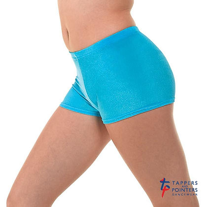 Kingfisher Hipster Micro Smooth Velvet Hot Pants by Tappers & Pointers