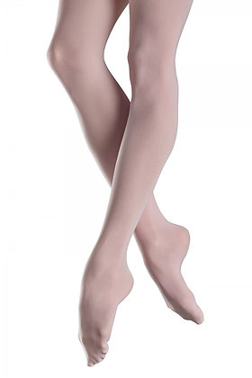 Silky Footed Seamless Ballet Tight