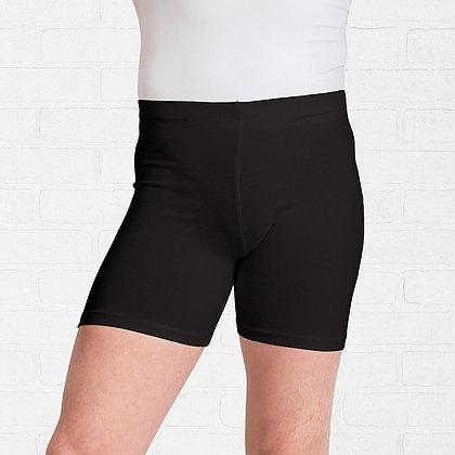 Mens Black & White Dance Shorts