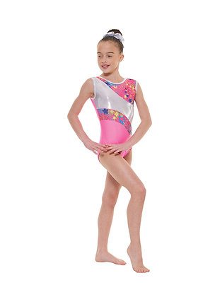 Sleeveless Gymnastics Leotard Gym/39