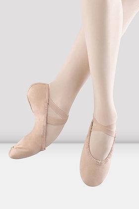 Ladies Bloch Pump Split Sole Canvas Ballet Shoes