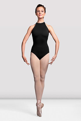 Ladies Sidonie Mesh Back Halter Neck Leotard L3135