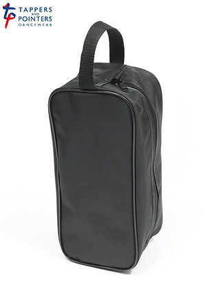 Plain Black Shoe Bag