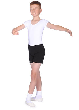 BBOAD Boys White Short Sleeved Leotard