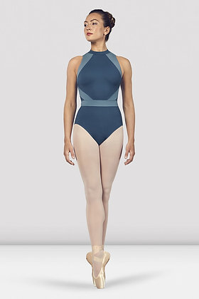 Alia Halter Neck Open Back Bloch Leotard L4965