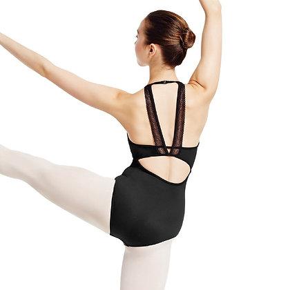 Mirella Stretch Lace Camisole Leotard M2098LM