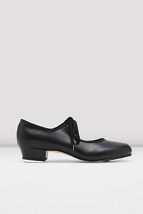 Girls Bloch Timestep Black Tap shoe SO330