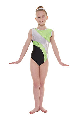 Sleeveless Gymnastics Leotard Gym/37