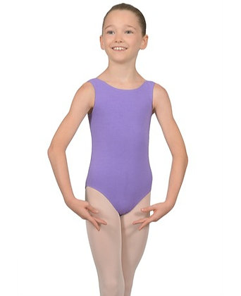 BBO1-3 Lavender Sleeveless Leotard