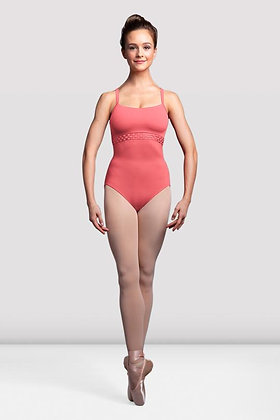 Ladies Miro Mesh Back Camisole Leotard L3597
