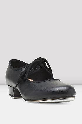Ladies Bloch Timestep Black Tap shoe SO330