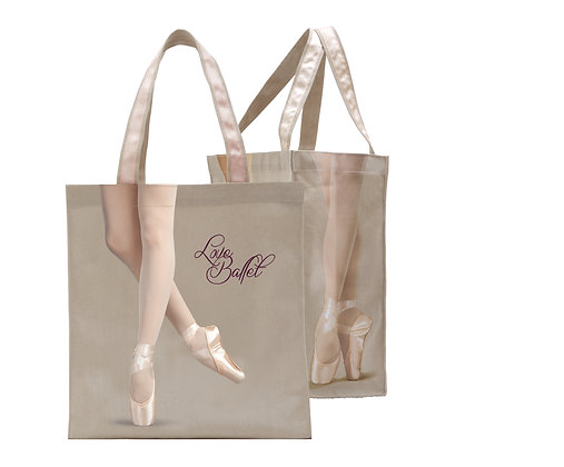 Pointe Tote Bag B114